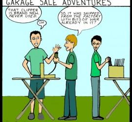 garage salefunny